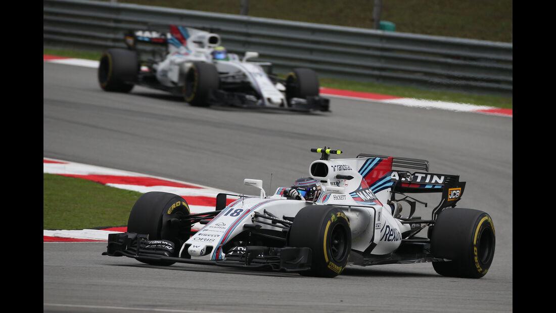 Lance Stroll - Williams - GP Malaysia 2017 - Sepang