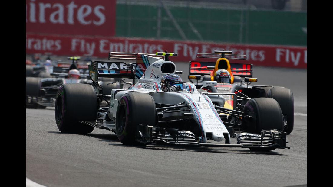 Lance Stroll - Williams - GP Mexiko 2017 - Rennen