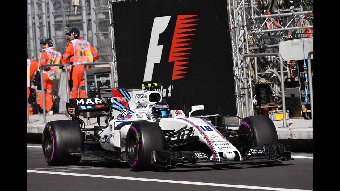 Lance Stroll - Williams - GP Mexiko - Formel 1 - Freitag - 27.10.2017