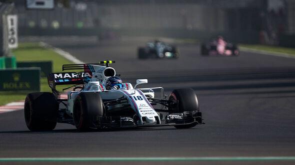 Lance Stroll -Williams - GP Mexiko - Formel 1 - Freitag - 27.10.2017