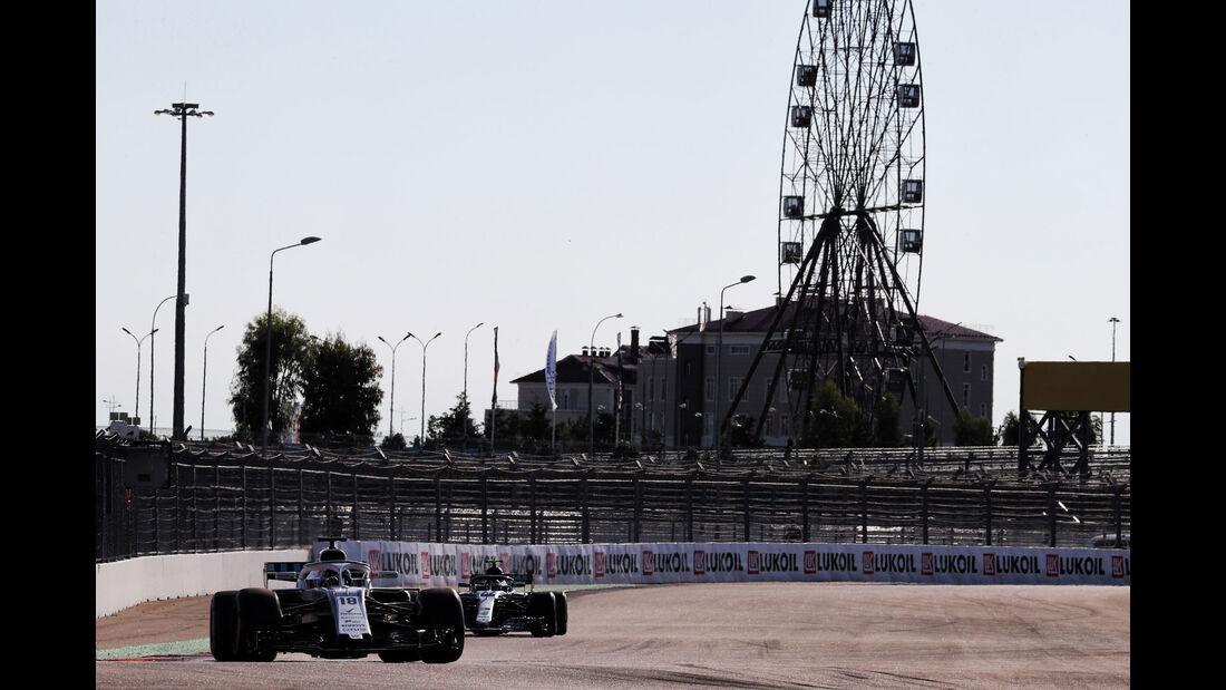 Lance Stroll - Williams - GP Russland 2018 - Sotschi - Qualifying