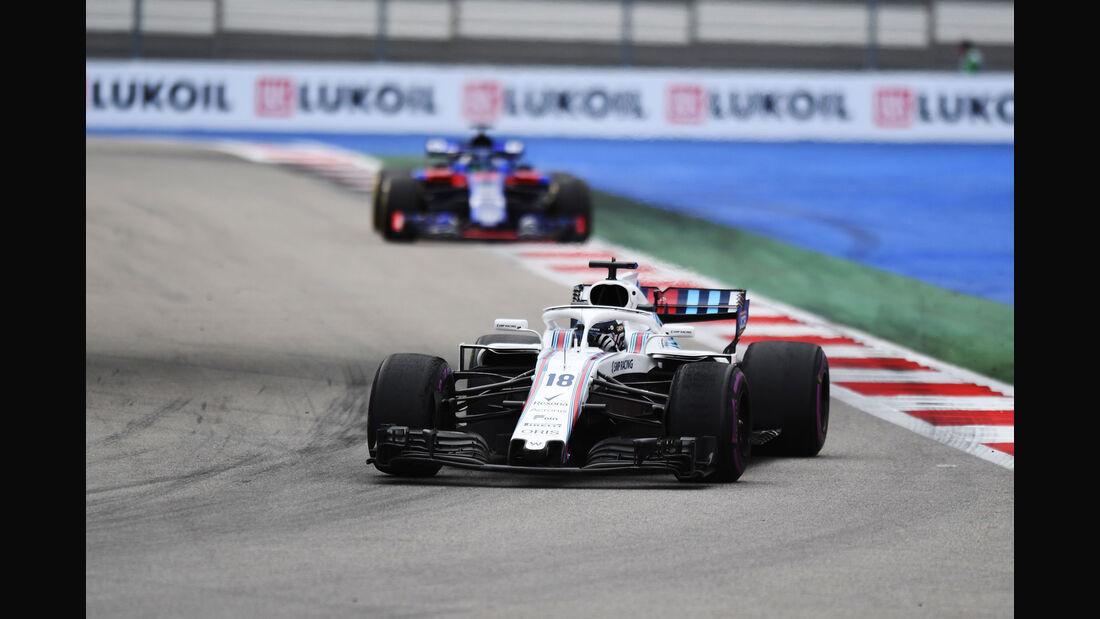 Lance Stroll - Williams - GP Russland - Sotschi - Formel 1 - Freitag - 28.9.2018