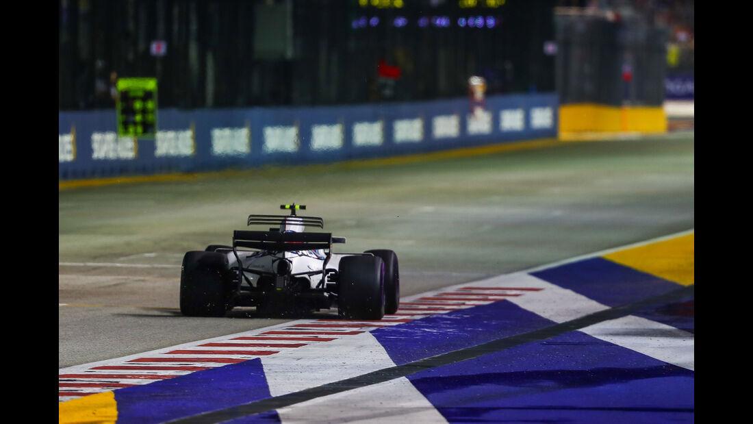 Lance Stroll - Williams - GP Singapur 2017 - Rennen