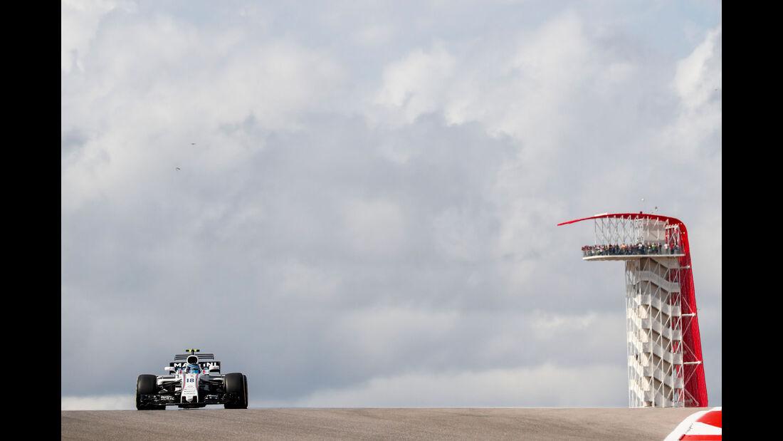 Lance Stroll - Williams - GP USA 2017 - Qualifying