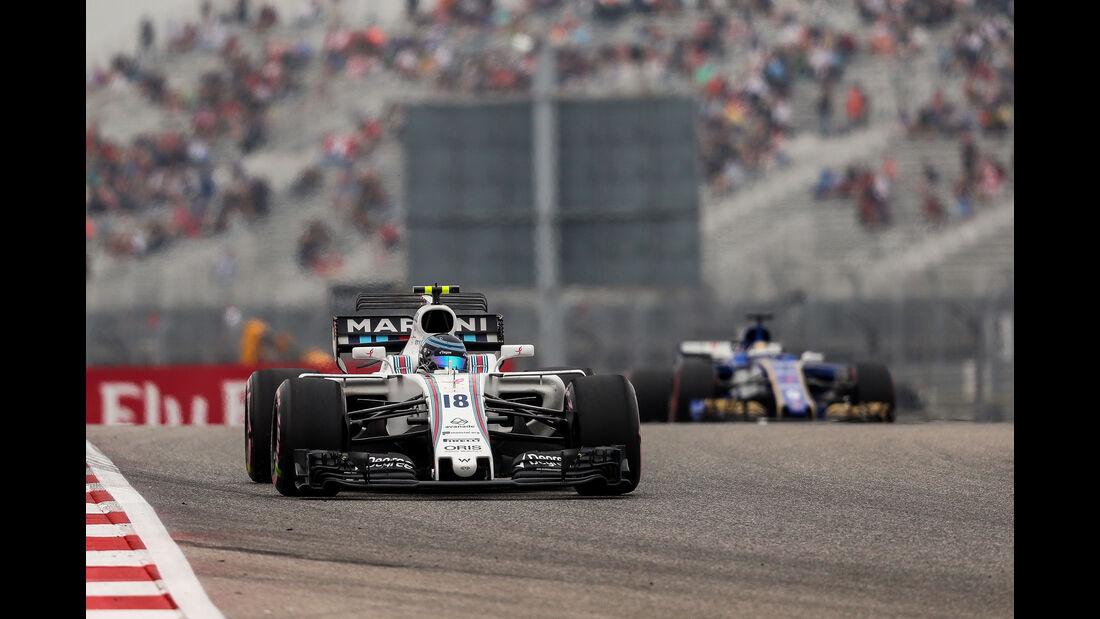 Lance Stroll - Williams - GP USA - Austin - Formel 1 - Freitag - 20.10.2017