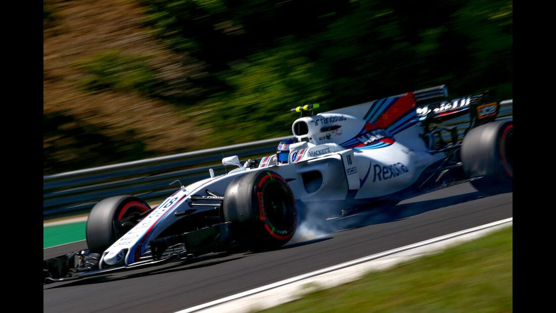 Lance Stroll - Williams - GP Ungarn 2017 - Budapest - Qualifying
