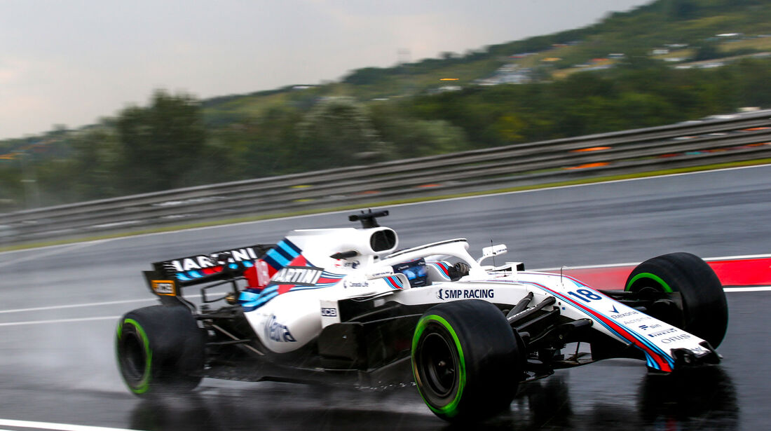 Lance Stroll - Williams - GP Ungarn 2018 - Qualifying
