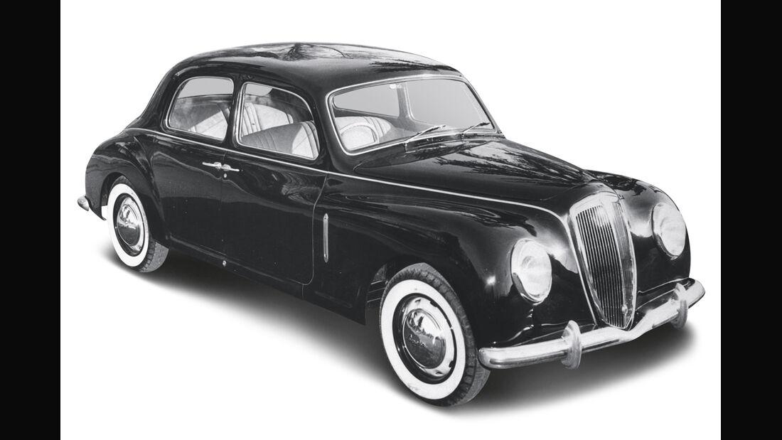 Lancia Aurelia B 10, Frontansicht