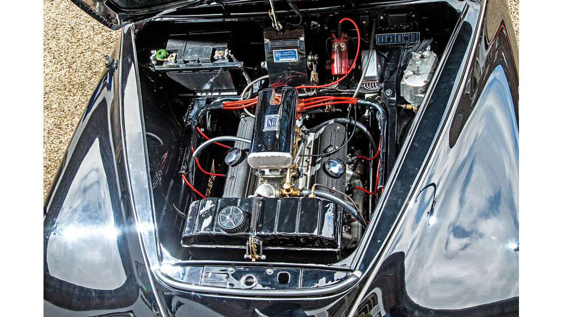 Lancia Aurelia B 10, Motor