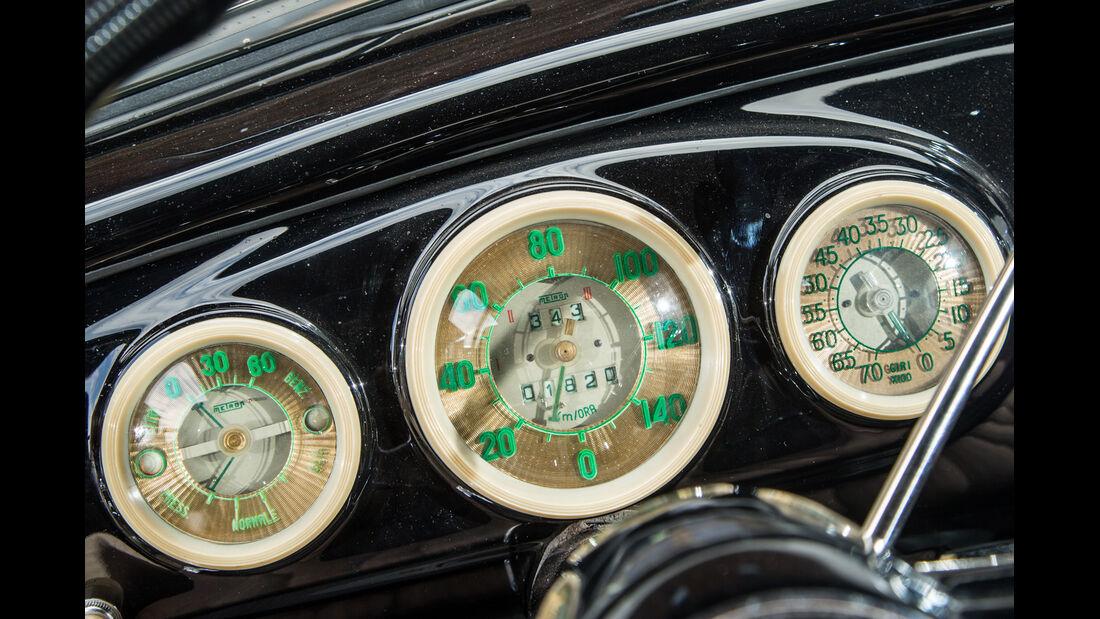 Lancia Aurelia B 10, Rundinstrumente