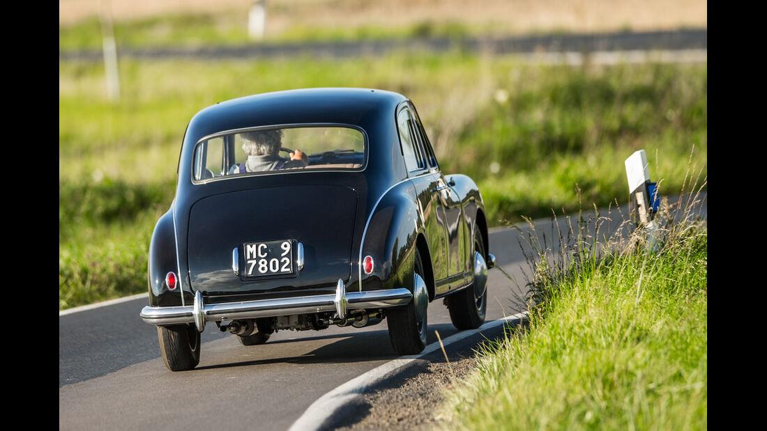 Lancia Aurelia B10, Heckansicht
