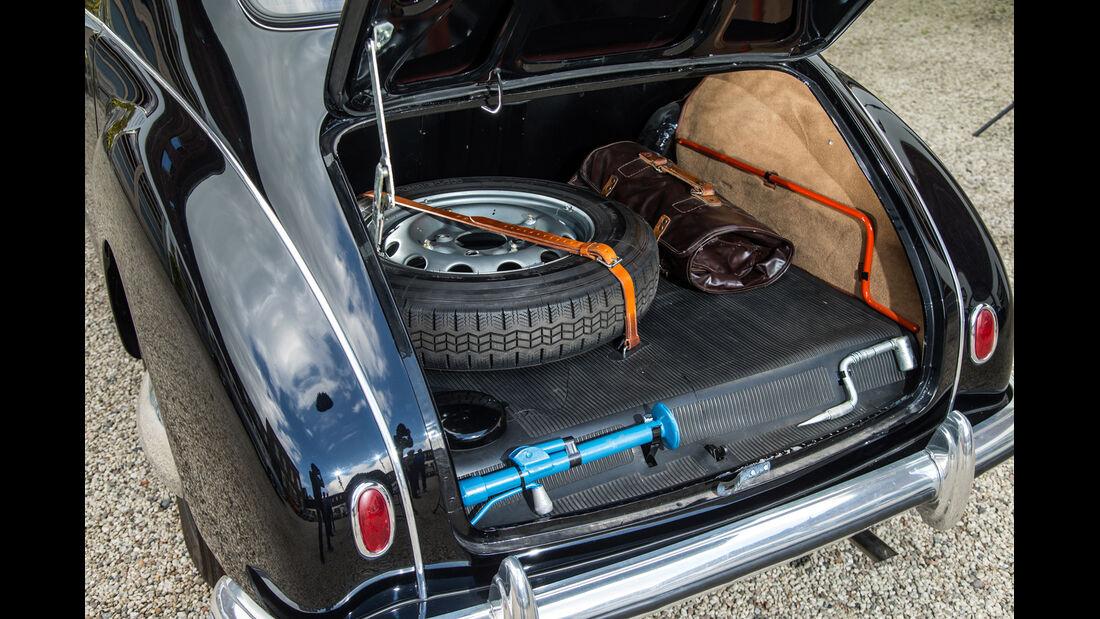 Lancia Aurelia B10, Kofferraum