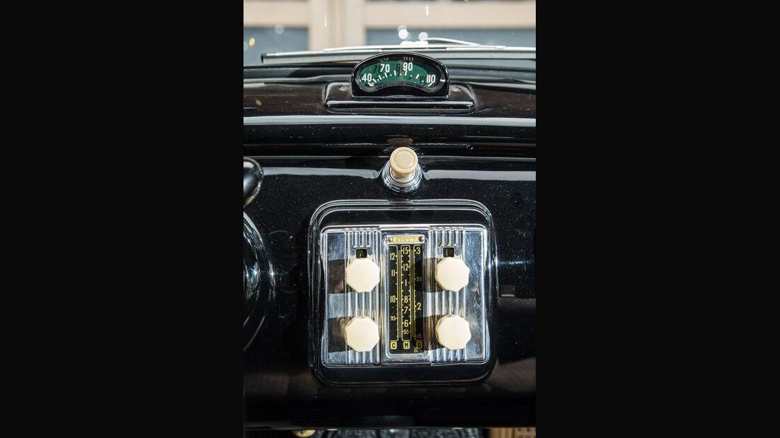 Lancia Aurelia B10, Mittelkonsole