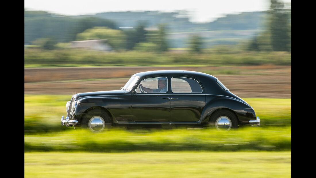 Lancia Aurelia B10, Seitenansicht