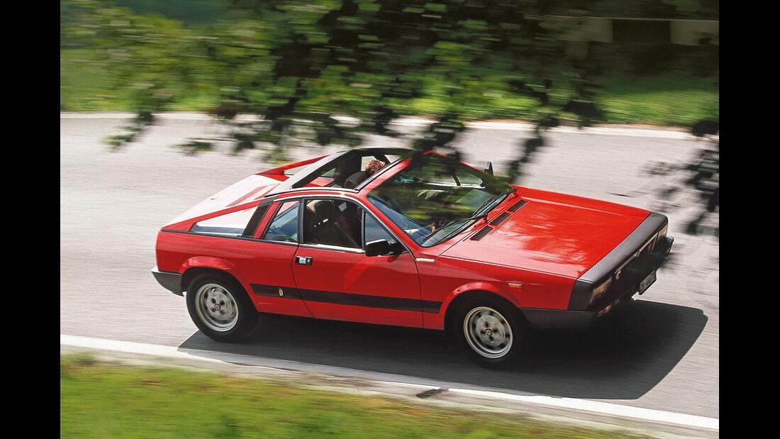 Lancia Beta Montecarlo, Draufsicht