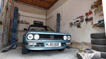 Lancia Beta Spider, Kühlergrill, Garage