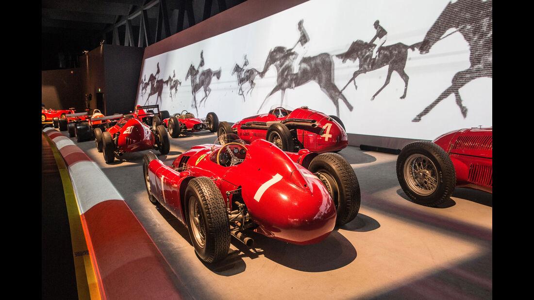 Lancia D50 - Rennwagen - Museum