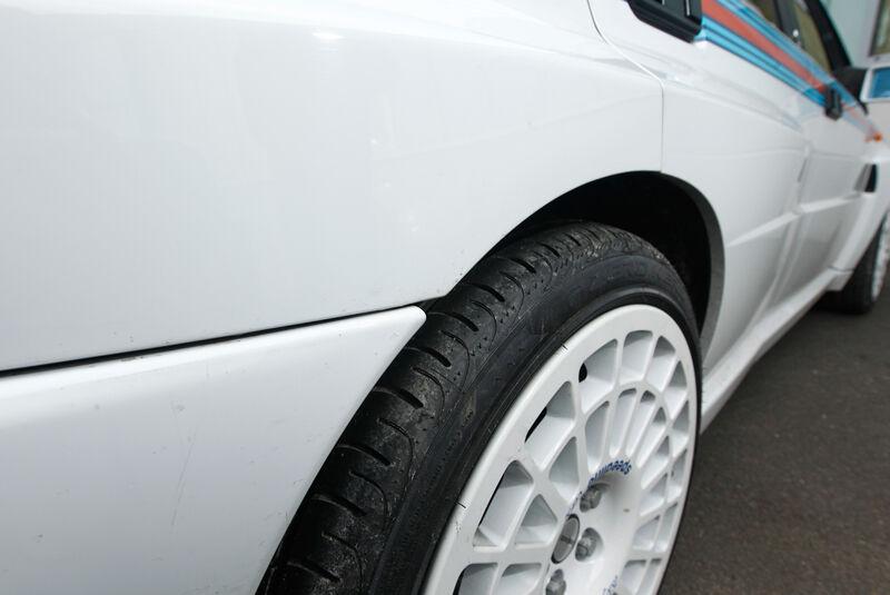 Lancia Delta HF Integrale, Detail
