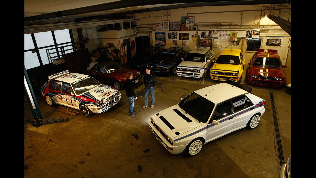 Lancia Delta HF Integrale, Werkstatt