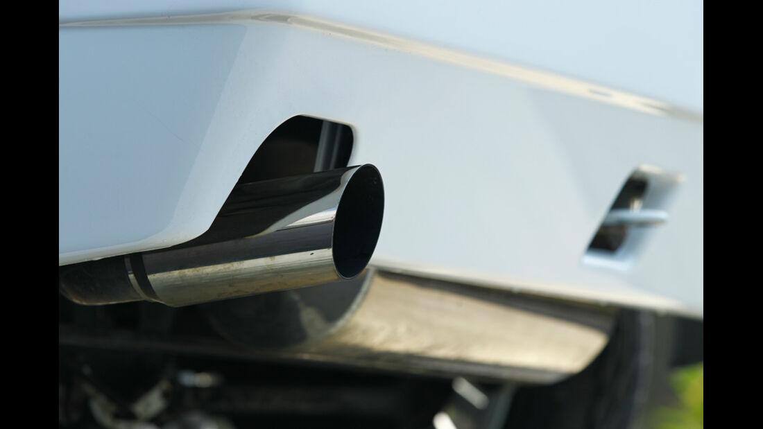 Lancia Delta HF integrale, Endrohre, Auspuff