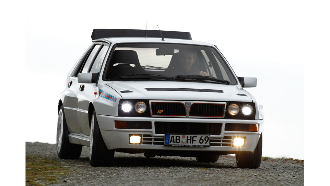 Lancia Delta HF integrale, Frontansicht