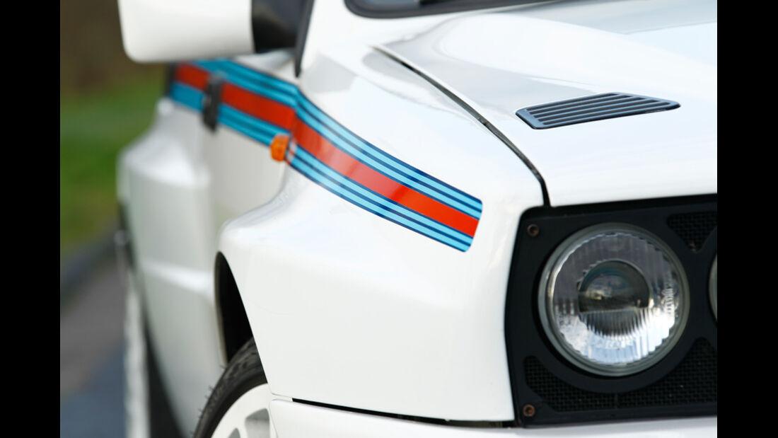 Lancia Delta HF integrale, Frontscheinwerfer