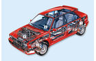 Lancia Delta HF integrale, Grafik, Mängel