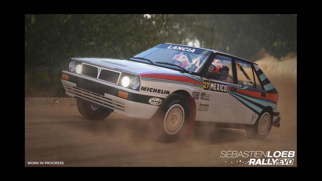 Lancia Delta Integrale - Screenshot - Sebastien Loeb Rally Evo