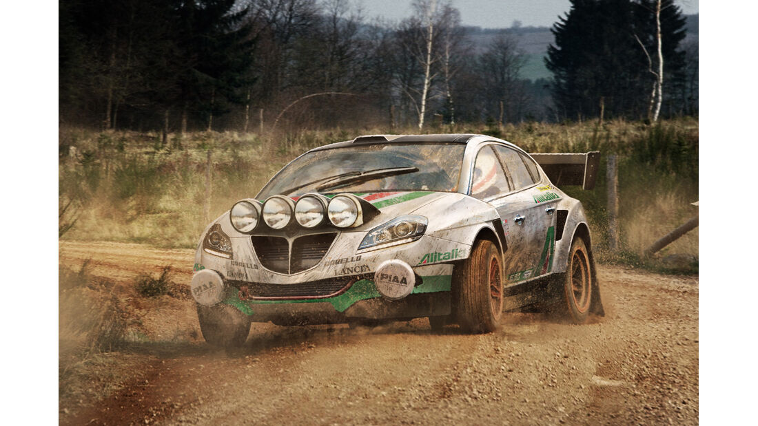 Lancia Delta - Moderne Rallye-Legenden