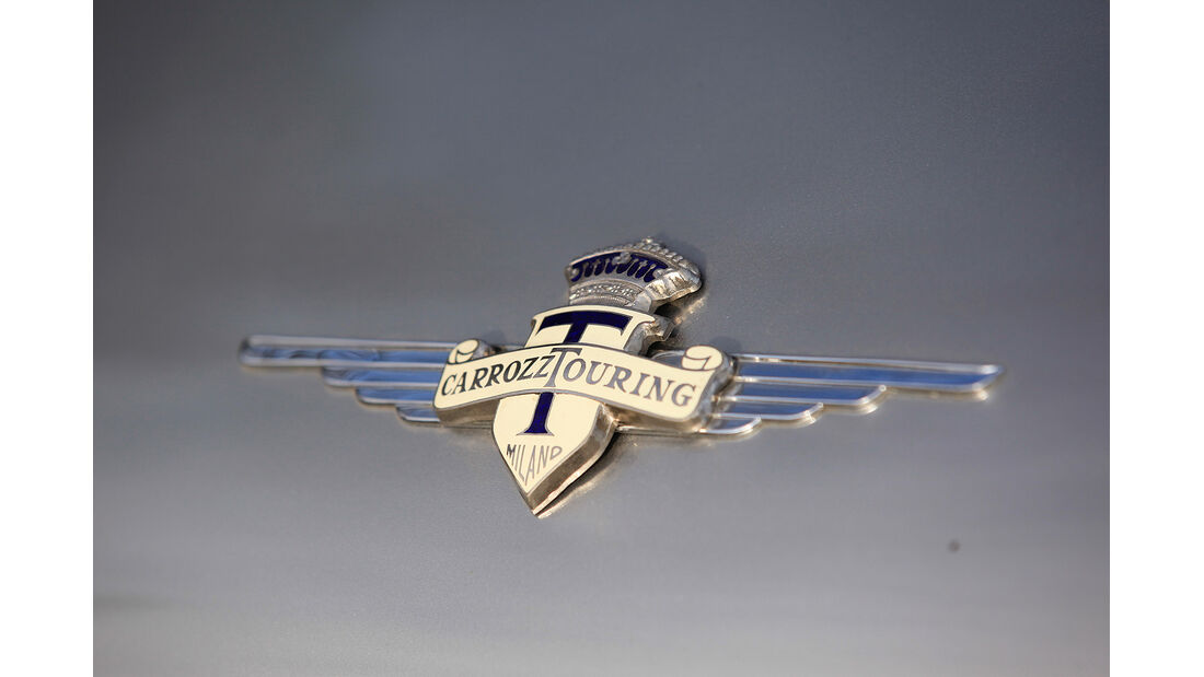 Lancia Flaminia GT, Carrozzeria Touring Emblem