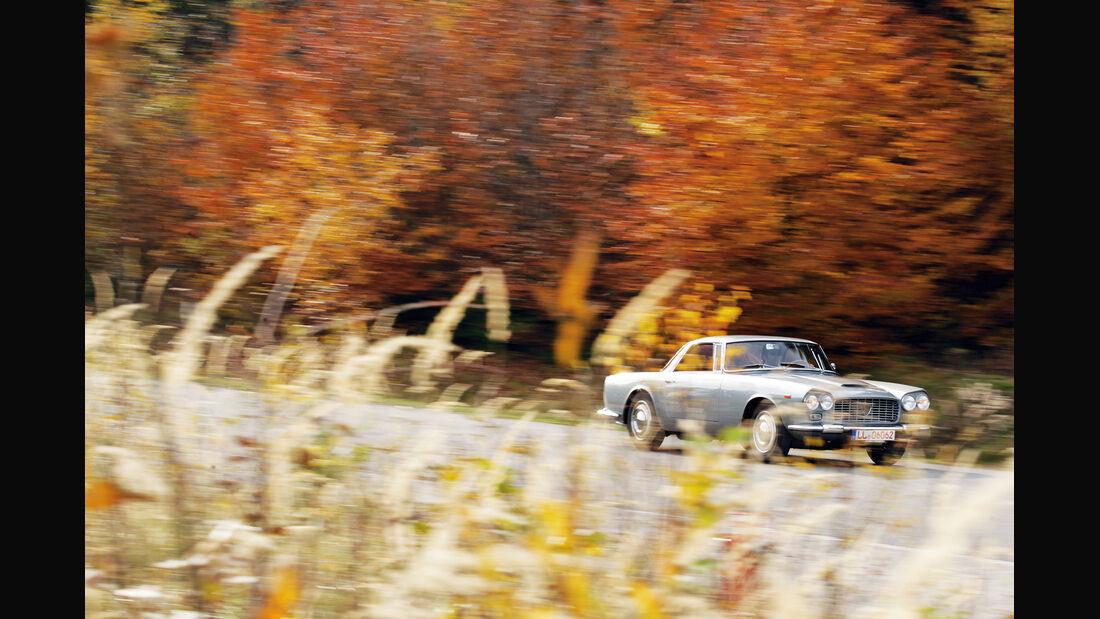 Lancia Flaminia GT, Frontansicht