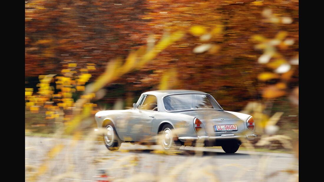 Lancia Flaminia GT, Heckansicht