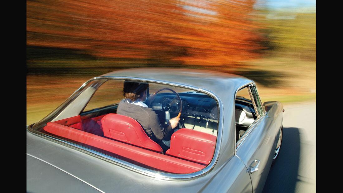 Lancia Flaminia GT, Heckscheibe