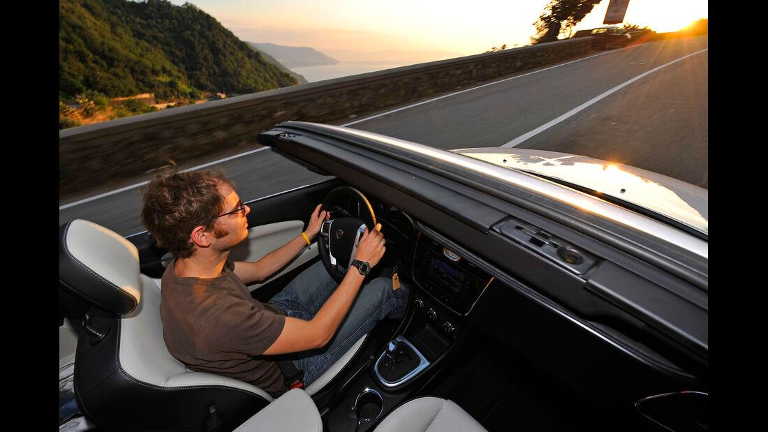 Lancia Flavia, Cockpit