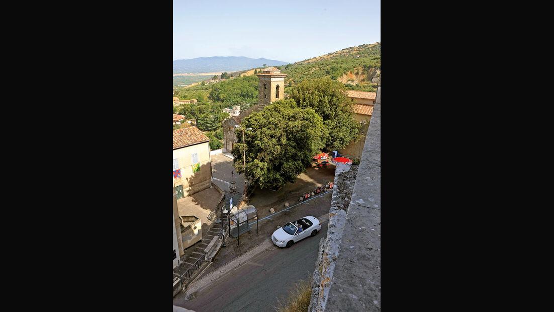 Lancia Flavia, Toskana