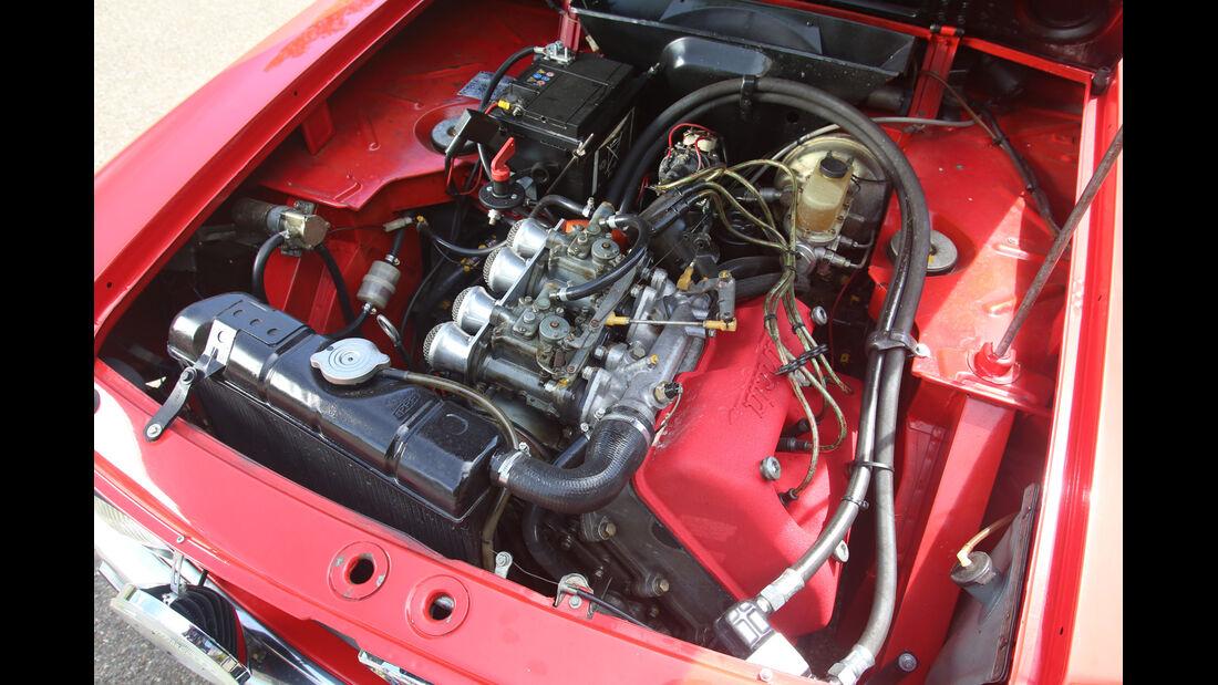 Lancia Fulvia Coupé, Motor