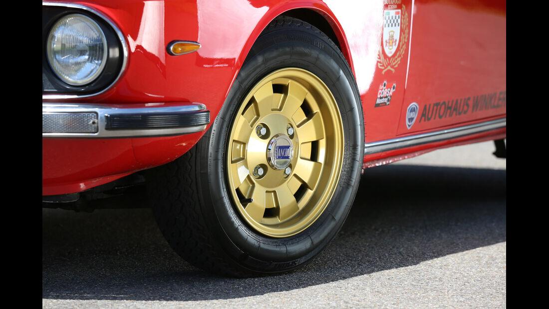 Lancia Fulvia Coupé, Rad, Felge