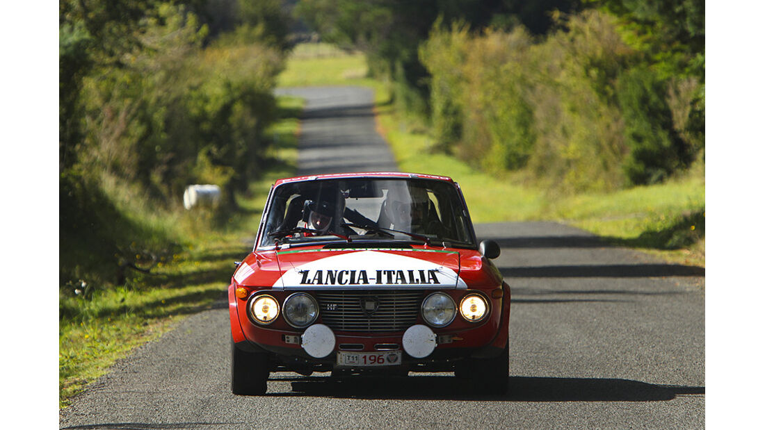 Lancia Fulvia bei der Targa Tasmania
