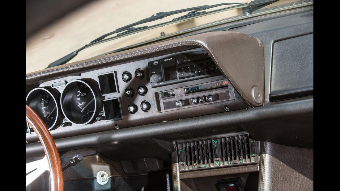 Lancia Gamma Coupé 2.5 i.e., Armaturenbrett