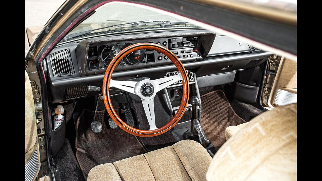 Lancia Gamma Coupé 2.5 i.e., Cockpit