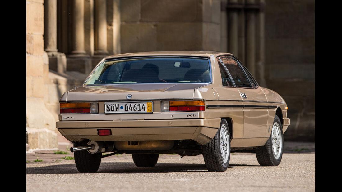 Lancia Gamma Coupé 2.5 i.e., Heckansicht