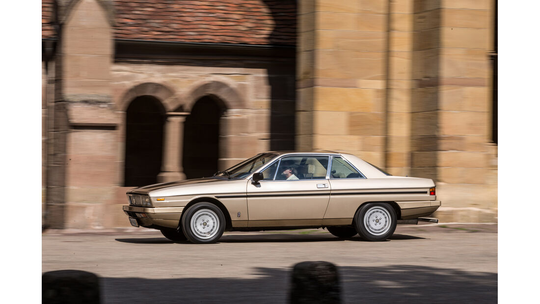 Lancia Gamma Coupé 2.5 i.e., Seitenansicht