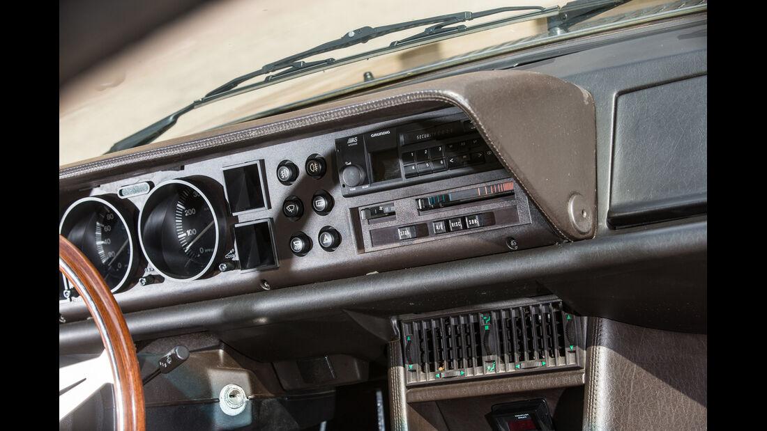 Lancia Gamma Coupé, Armaturenbrett