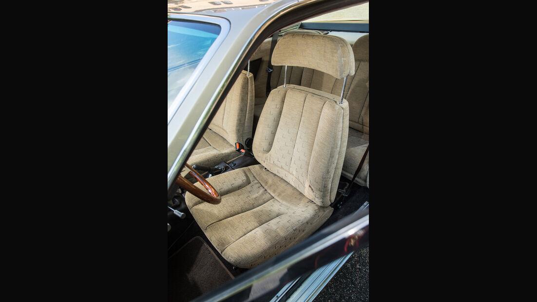 Lancia Gamma Coupé, Fahrersitz
