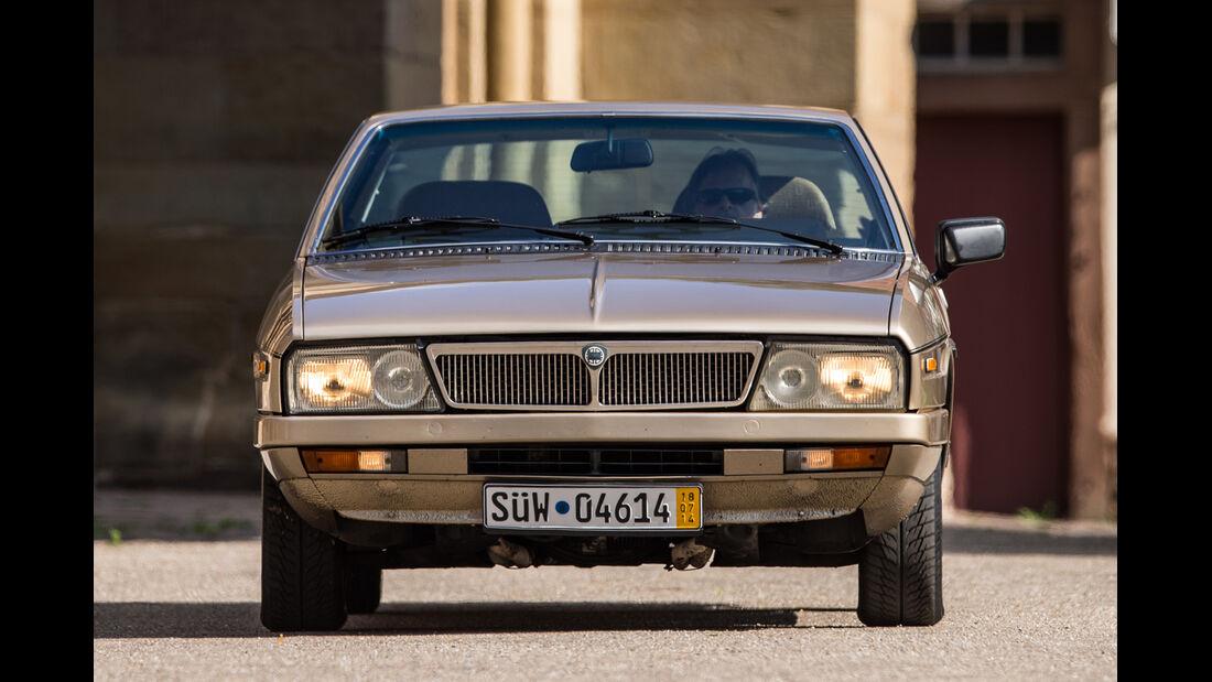Lancia Gamma Coupé, Frontansicht