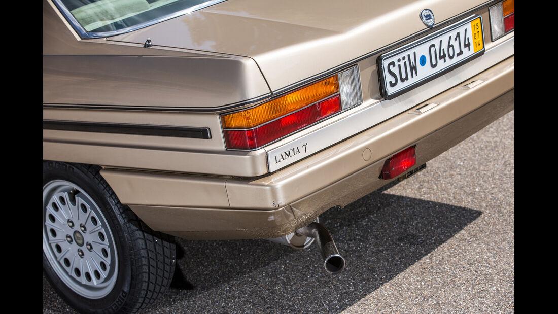 Lancia Gamma Coupé, Heck