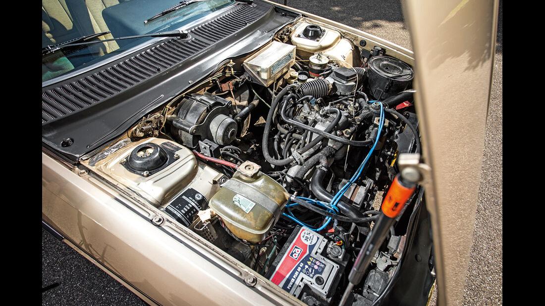 Lancia Gamma Coupé, Motor