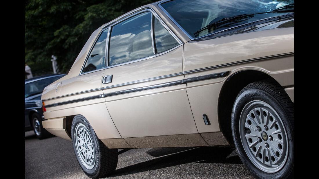 Lancia Gamma Coupé, Seitenführung