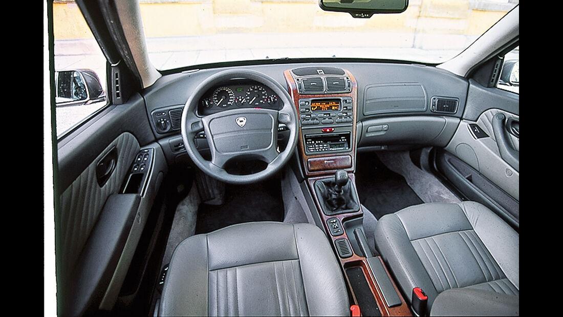 Lancia Kappa, Cockpit