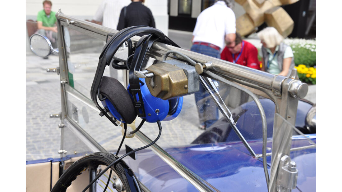 Lancia Lambda Torpedo bei der Silvretta Classic 2011